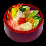 特上ちらし 11 assorted sashimi bowl