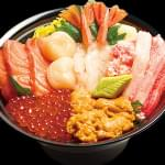極上北海丼 NORTH SEA ASSORTED SASHIMI BOWL