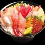【47】 極上海鮮丼 SPECIAL ASSORTED SASHIMI BOWL