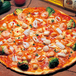 シーフード(Lobster sauce pizza with Seafood)